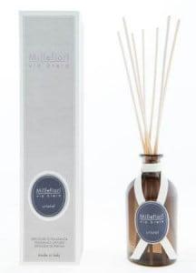 Millefiori(ミッレフィオーリ) のフレグランス、クリスタルの香り、ヴィアブレラシリーズリードディフューザー
