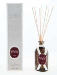 Millefiori(ミッレフィオーリ) のフレグランス、ベルベットの香り、ヴィアブレラシリーズリードディフューザー