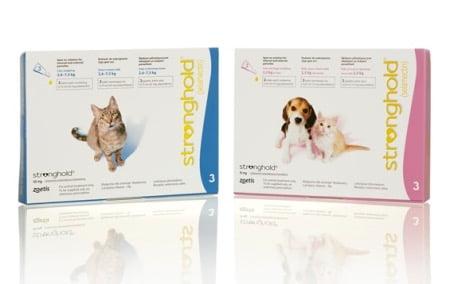 「レボリューション犬用猫用」と同成分同会社発売の「ストロングホールド犬用猫用」